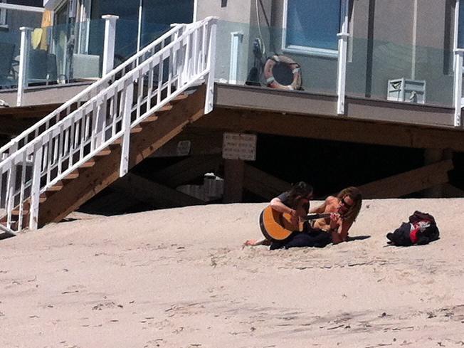 A little love on the beach <3