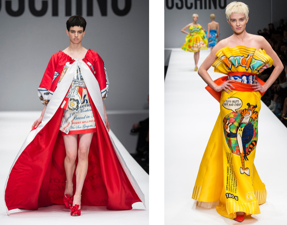Jeremy Scott Moschino fall-winter 2014 - Timeless Look Blog 3