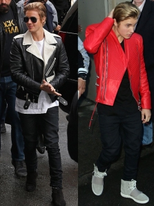 Justin-Bieber-Saint-Laurent-Balmain-jacket